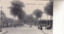 NOGENT SUR SEINE  LA ROUTE DE PROVINS - Nogent-sur-Seine