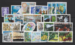 NOUVELLE CALEDONIE ANNEE COMPLETE 2007 MNH Neufs** - BF Et Carnets - Años Completos