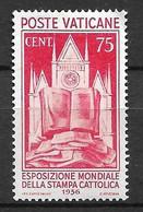 Vatican  N° 76 Neuf  *       B / TB    Soldé     Le Moins Cher Du Site  ! ! ! - Neufs