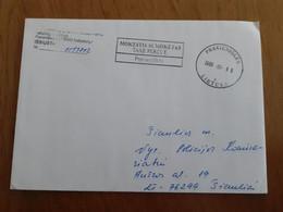 Lithuania Litauen Cover Sent Pravieniskes Prison To  Siauliai 2008 - Lituania