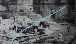 Photox3 OOSTENDE Destruction Mai Juin 1940 German Truck Camion Déblaiement Oorlog WO2 Kust - Plaatsen