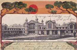 300651Bad Nauheim, Badehaus, 02-06-1900 (sehe Ecken) - Bad Nauheim