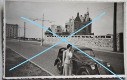 Photo MARIAKERKE Naast Oostende Raversijde 1937 Voiture Auto Automobile Kust - Plaatsen