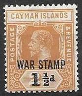 Cayman Islands Under Jamaican Administration Mh * Multiple CA Watermark - Jamaica (...-1961)