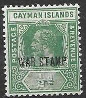 Cayman Islands Under Jamaican Administration Mh * Multiple CA Watermark (W Variety) - Jamaica (...-1961)