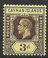 Cayman Islands Under Jamaican Administration Mh * Multiple CA Watermark Light Yellow 4,50 Euros - Jamaica (...-1961)