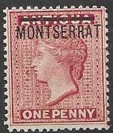 Montserrat Under Leeward Islands Administration Mh * - Number 1 From 1876 34 Euros (quasi Mnh **) - Leeward  Islands