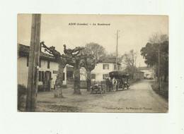 40 - AZUR - Le Boulevard Animé Auto Attelage Marchand Ambulant Bon état - Altri Comuni