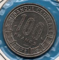 REPUBLIQUE POPULAIRE DU CONGO 100 Francs 1972 KM# 1 Giant Elands - Congo (Republic 1960)