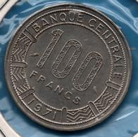 GABON 100 Francs 1971 KM# 12 Giant Elands - Gabon