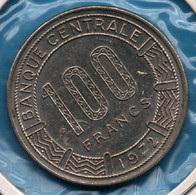 GABON 100 Francs 1972 KM# 12 Giant Elands - Gabon