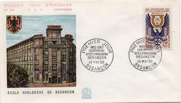 Premier Jour N° 1342 19/05/1962 Besançon Edition Coq - 1960-1969