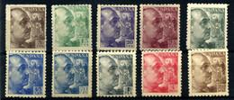 España Nº 919, 921/3, 925/6, 929/3, 933, 935. Año 1940/45 - 1931-50 Nuovi