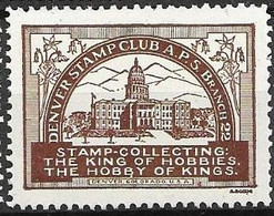 Denver Stamp Club 1905 Mnh ** - Unclassified