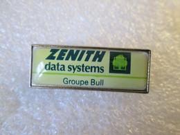 PIN'S    ZENITH   DATA  SYSTEMS   GROUPE  BULL - Informatik