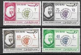 Dubai 1966 Airmail Set Mnh ** 10 Euros - Dubai