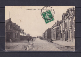 FRANCE 1913, Postcard, Wattignies, Station District, Used - Non Classificati