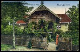 MODOR / Modra  1918. Imre Villa ,  Régi Képeslap        ## - Hungary