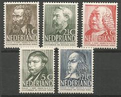 Nederland Pays-Bas Netherlands NVPH 318/22 Complete Set MNH / ** 1939 - Nuevos