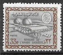 1966 Oil Industry Saudi Arabia Mnh ** 28 Euros No Watermark - Saoedi-Arabië