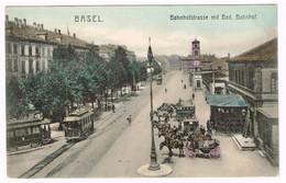 BASEL BS 1905 Tram-Strassenbahn-Kutschen - BS Bâle-Ville