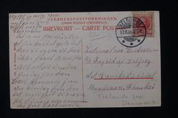 DANEMARK - Affranchissement De Helsingør (  Elseneur ) Sur Carte Postale Pour La France En 1908 - L 82483 - Briefe U. Dokumente