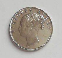 East India Company - 1 Rupia 1840 Queen Victoria - Colonias