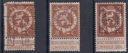N° 109 Preo Lion Tongres ,  Brugge Antwerpen Anvers - Typos 1912-14 (Lion)