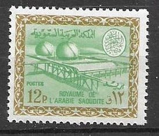 1966 Oil Industry Saudi Arabia Mnh ** 6,5 Euros No Watermark - Arabia Saudita