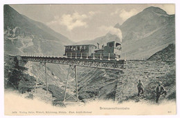 BRIENZER-ROTHORN-BAHN BE 1909 Zahnradbahn - BE Berne