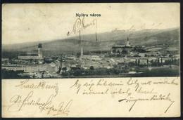 NYITRA 1906. Látkép, Régi Képeslap                 ## - Hongarije