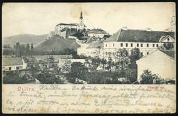 NYITRA 1913. Régi Képeslap                      ## - Hongarije