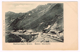BRIENZER-ROTHORN-BAHN BE 1900 Zahnradbahn - BE Berne