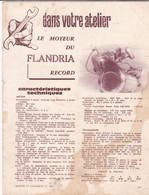 REVUES  SUR LA MOTOS  FLANDRIA - Altri