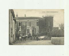 40 - BAREYTH -  BRASSEMPOUY - Chateau Animé Attelage Boeufs Chevauxpetit Pli Haut Gauche  Sinon Bon Voir Scan - Altri Comuni