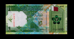 New! Qatar 2020 1 UNC Riyals P-NEW - Qatar