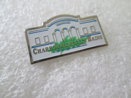 PIN'S    CHARBONNIERES LES BAINS - Cities