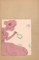 KIRCHNER Raphael - Art Nouveau - Serie Girls With Olive Green Surnounds- G8-1-1 Etat Neuf  -LUXE - Superbe - (illu-129) - Kirchner, Raphael