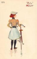 KIRCHNER Raphael - Art Nouveau - Serie All Heil- D1-9 - Etat Neuf  -LUXE - Superbe - (illu-130) Cycliste - Kirchner, Raphael