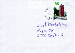 Brief Von 4320 Perg Mit 85 Cent Wasserturm Floridsdorf 2020 - 2011-... Lettere