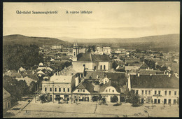 SZAMOSÚJVÁR 1915. Cca. Régi Képeslap - Hungría