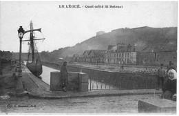 PENICHE        LE LEGUE  22    QUAI  COTE ST BRIEUC - Houseboats