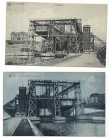 Belgique - LA LOUVIERE - 2 CP - Ascenseur à Bateaux (1x à L'endroit Et 1x à L'envers) - La Louviere