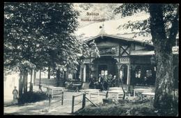 SZLIÁCS / Sliač 1910. Cca. Huszka Vendéglő, Régi Képeslap - Hungary