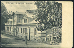 SZLIÁCS / Sliač  1909. Fürdőház, Régi Képeslap           ## - Hungary