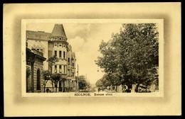 SZOLNOK 1909. Baross Utca , Régi Képeslap - Hungary