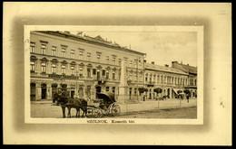 SZOLNOK 1909. Kossuth Tér , Régi Képeslap - Hungary