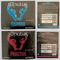 Etiketten 2l1 Lupulus Hopera & Fructus Brewery Brasserie Lupulus - Beer