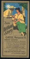 SZÁMOLÓ CÉDULA Régi Reklám Grafika , GRaz Brillant Stern1910-20. Ca. - Unclassified