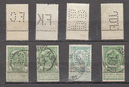PERFORES TIMBRE N° 56 /  34 TIMBRES + 1 TIMBRE SUR CARTE POSTALE - 1863-09